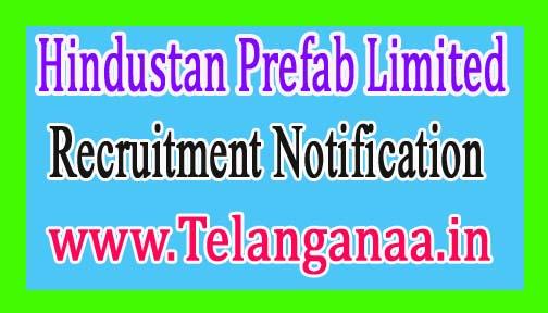 Hindustan Prefab LimitedHPL Recruitment Notification 2017