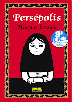 """Portada del cómic """"Persépolis"""", de Marjane Satrapi"""