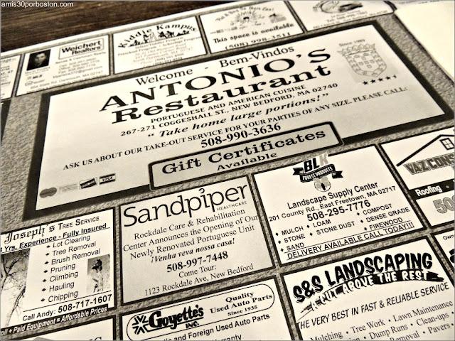 Restaurante Portugués Antonio de New Bedford