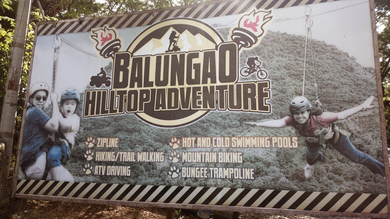 Balungao Hilltop Adventure and Hot Springs Resort
