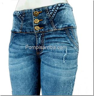 Pantalones originales levanta pompis Barato original en donde lo venden