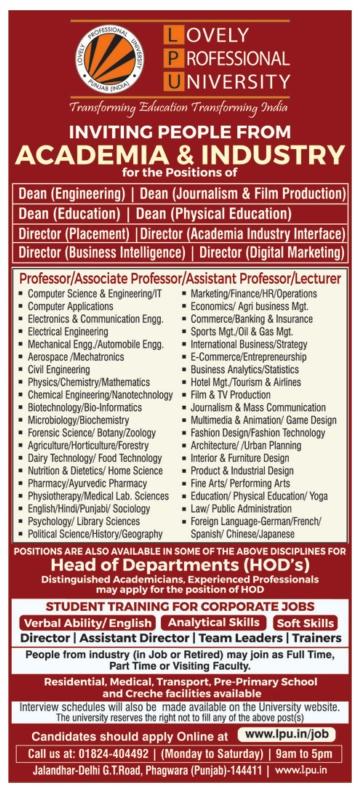 Fashion Faculty Jobs In Delhi