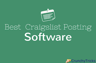 Craigslist Posting Software