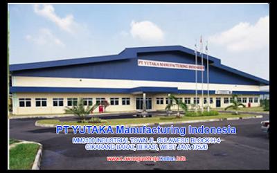 Loker PT Yutaka Manufacturing Indonesia