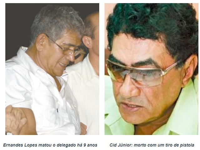 Justiça condena a 16 anos de prisão procurador que matou o delegado Cid Júnior