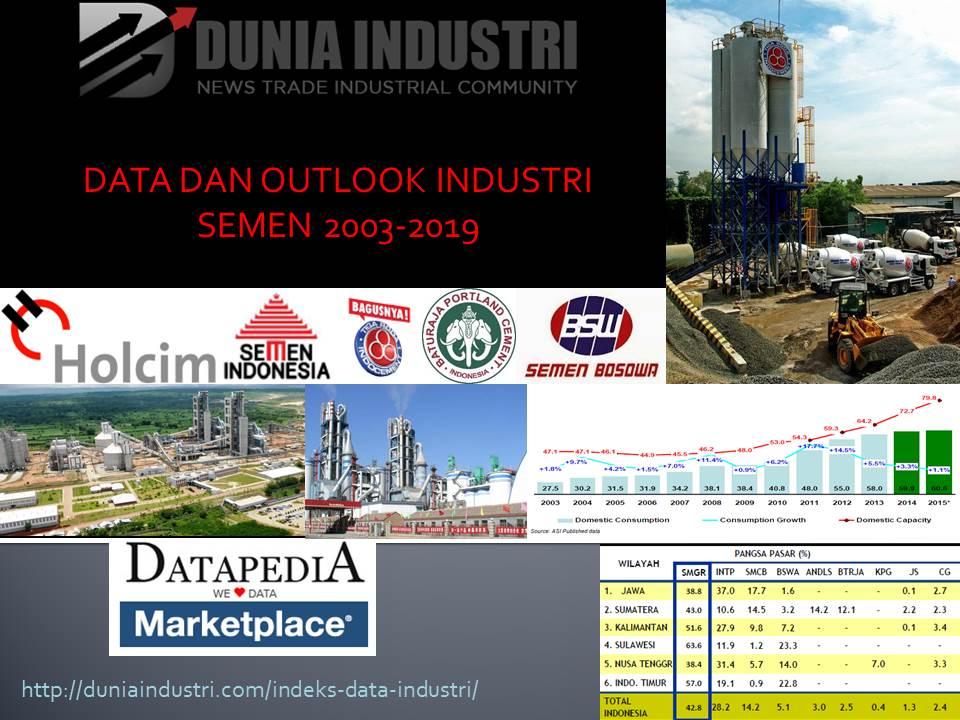 Fourth image of 3 Besar Daftar Perusahaan Tbk Di Jakarta Berdasarkan Idx with Data Industri: Tren Penjualan Semen di Pulau Jawa dan ...