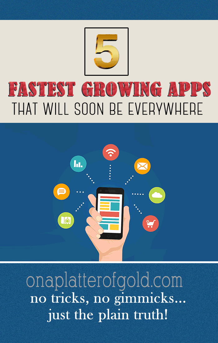 5 Fastest Growing Apps That Every Smartphone User Will Soon Download [Infographic]