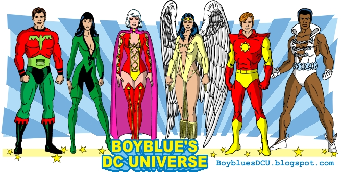 Ultra Boy, Shrinking Violet, Princess Projectra, Dawnstar, Sun Boy, Tyroc