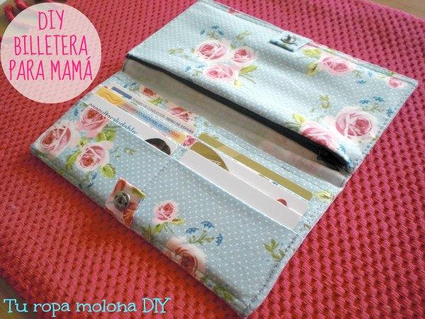DIY billetera para mamá