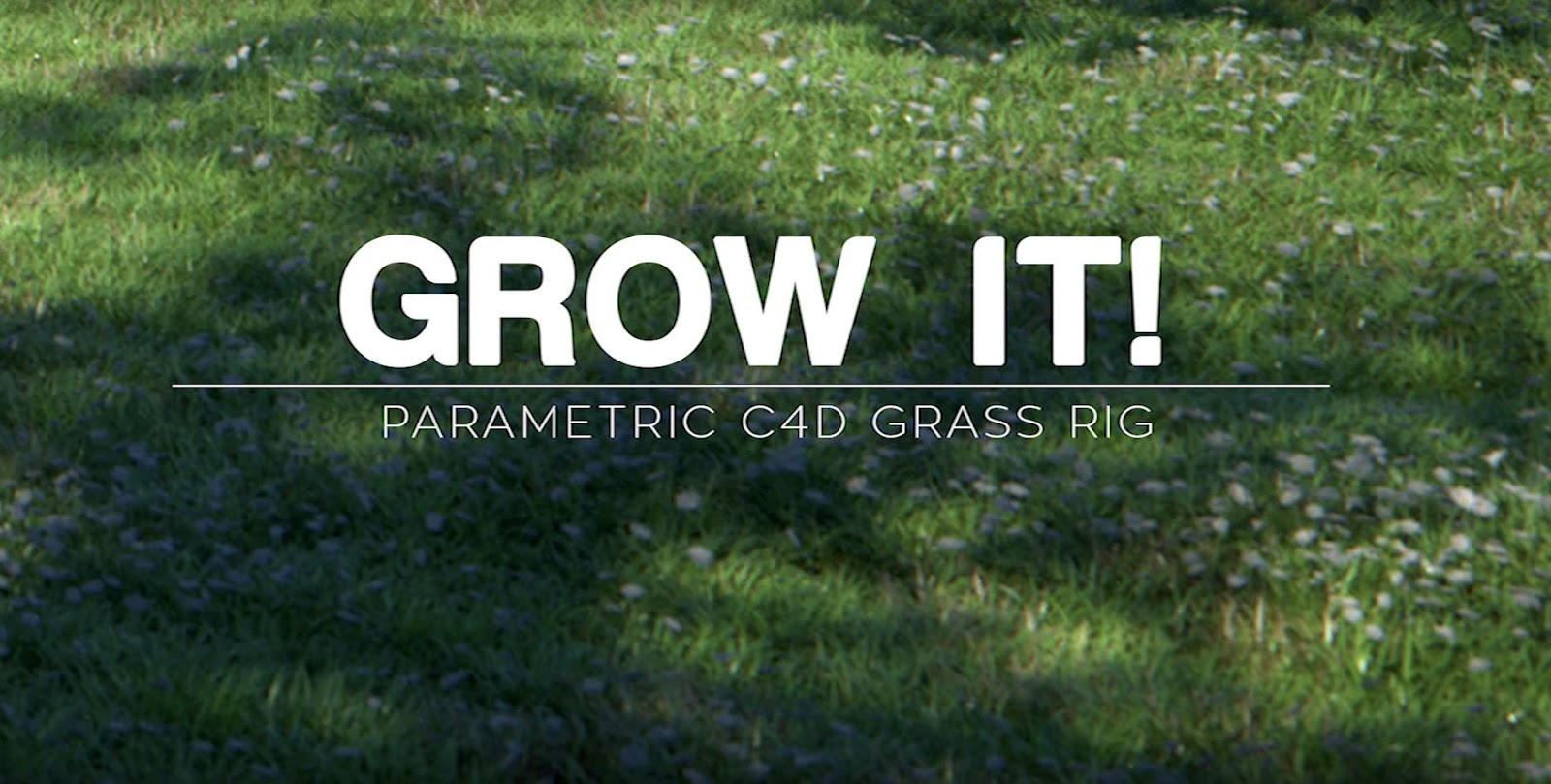Download Grow It! for Cinema 4D | Computer Graphics Daily News