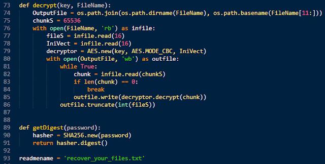 Coding | Reversing: Reversing a PyInstaller based ransomware