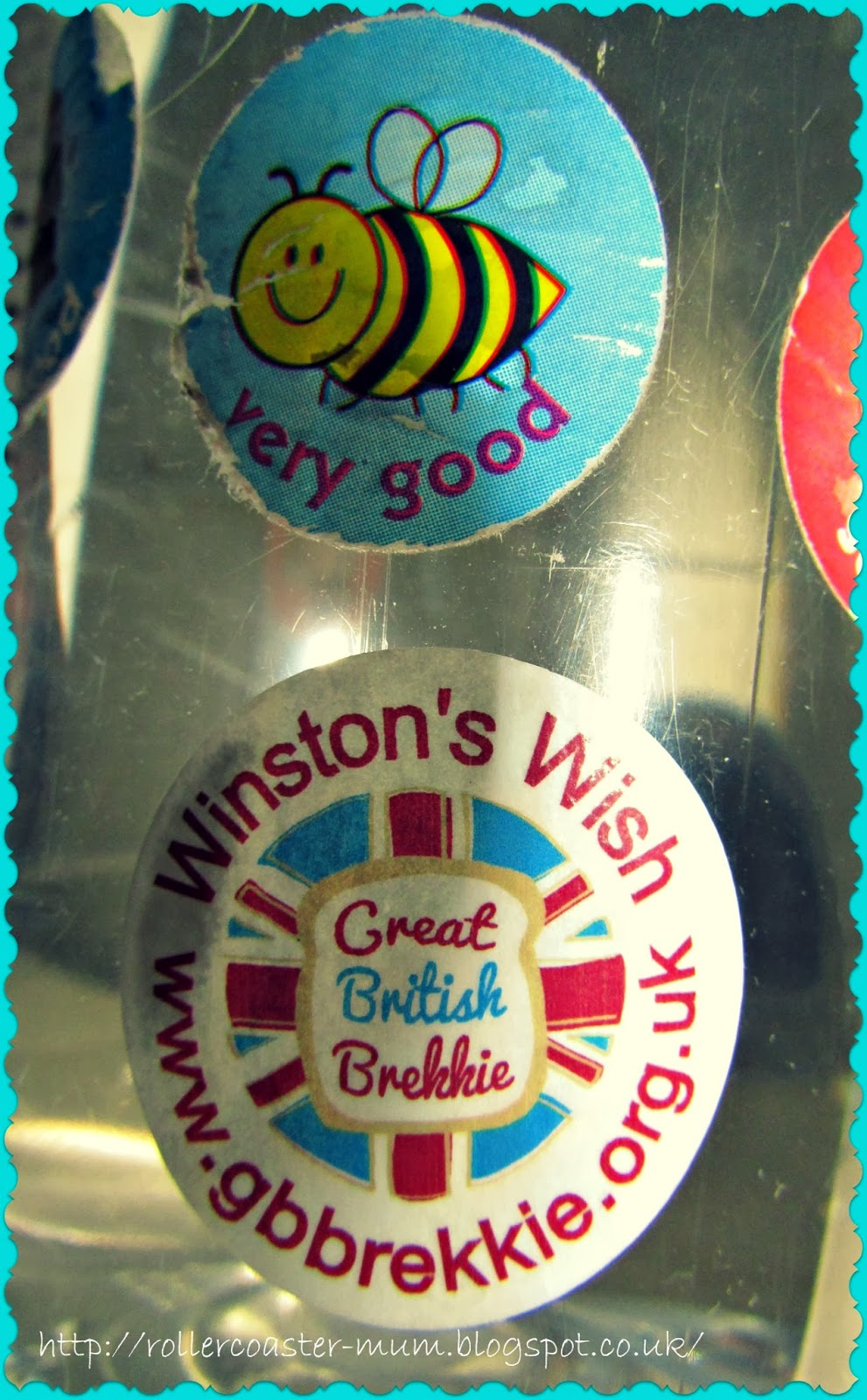 raising money for Winston's Wish with the Great British Brekkie
