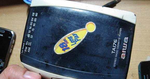 Merubah radio wokmen menjadi pemancar FM mini frekuensi 106 Mhz