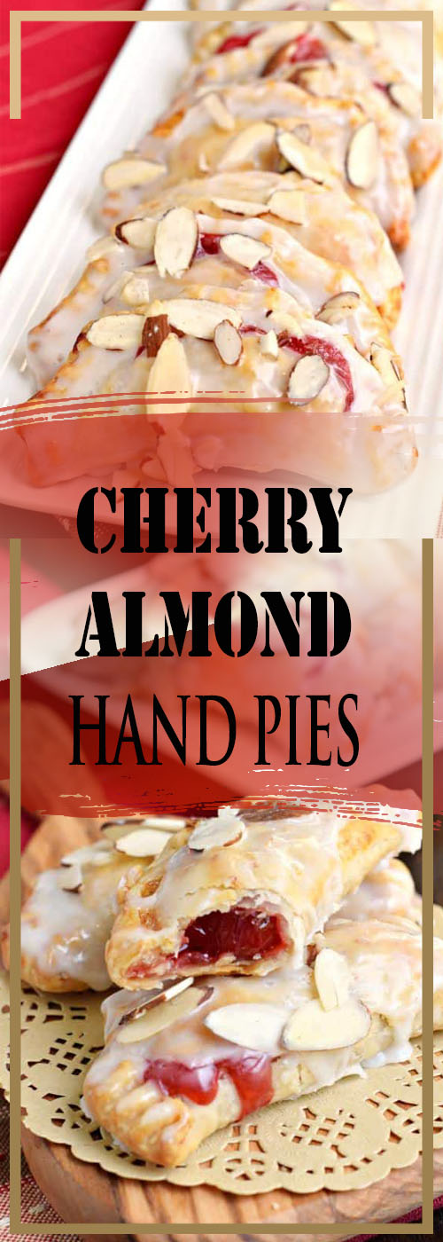 CHERRY ALMOND HAND PIES RECIPE