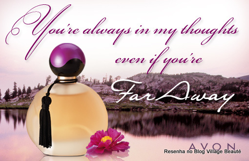 RESENHA FAR AWAY DA AVON