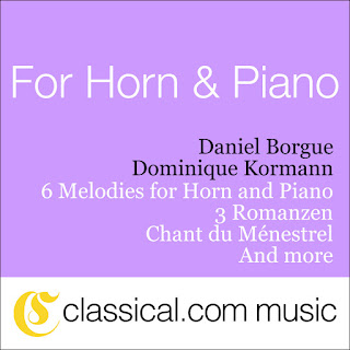 Charles Gounod, 6 Melodies For Horn And Piano