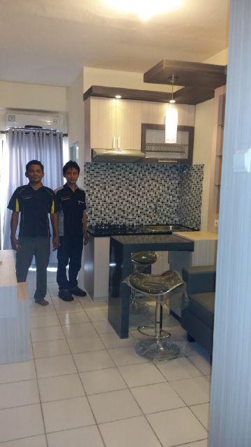 desain-kitchen set-apartemen-kemang-view