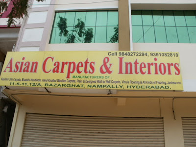 Asian Carpets Nampally