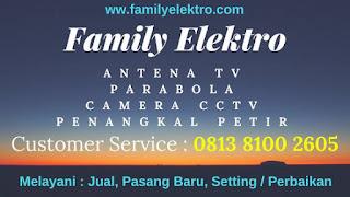 Agen Pasang Parabola Kebayoran Baru ~ Family Elektro