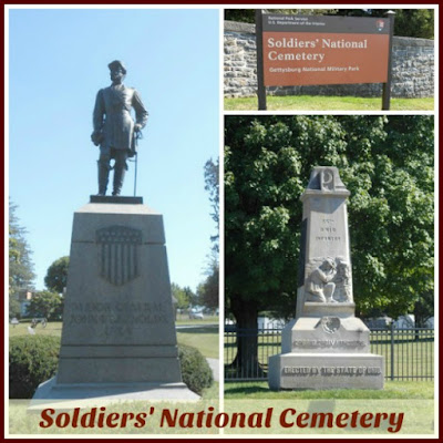 Soldiers' National Cemetery in Gettysburg Pennsylvania