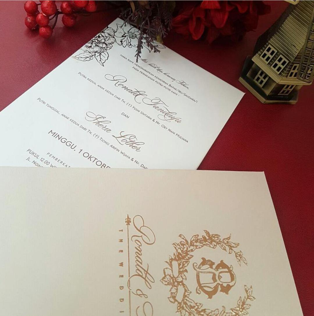 Luxury Wedding Invitation Surabaya Vignette - Invitations and ...