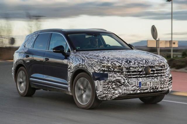 Yeni Volkswagen Touareg Görücüye Çıktı