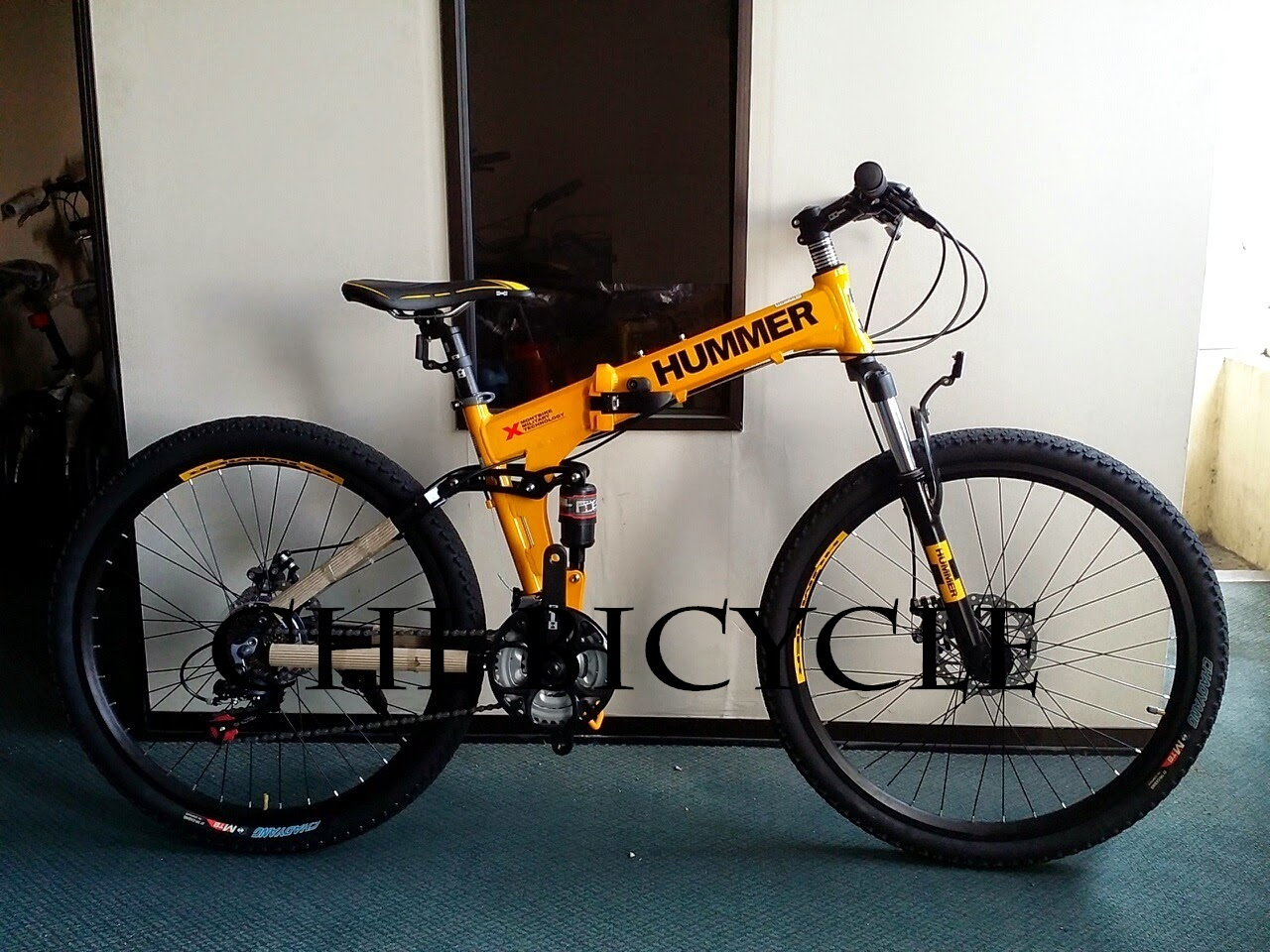 Choo Ho Leong Chl Bicycle 26 Quot Hummer Full Suspension