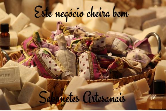 Sabonetes Artesanais este negócio cheira bem