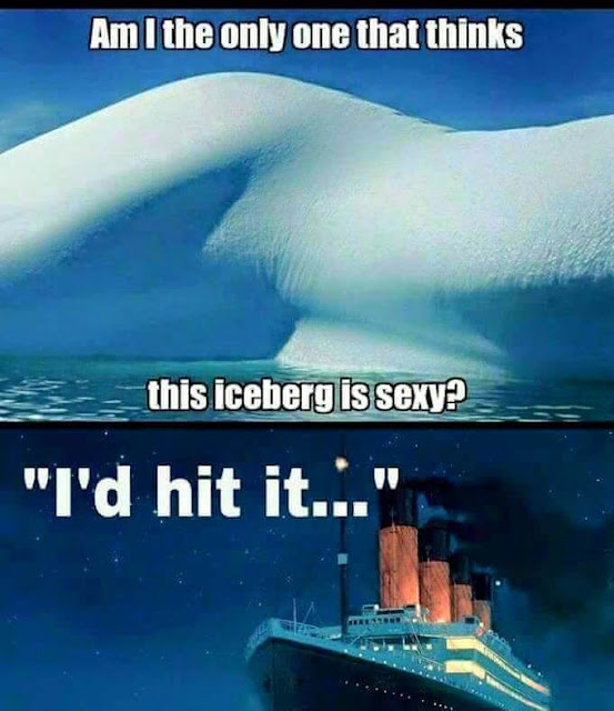 Am I the only one that thinks this iceberg is sexy?