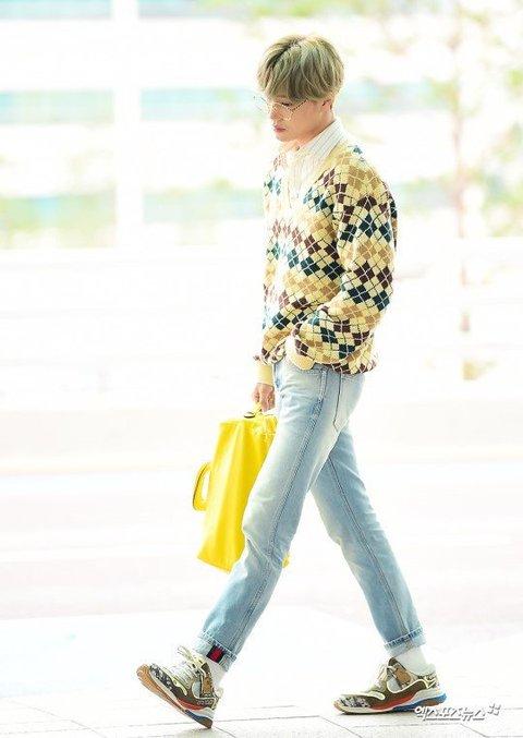 [PANN] Kai'nin havaalanı modası beğeni topladı
