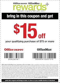 free Office Max coupons february 2017