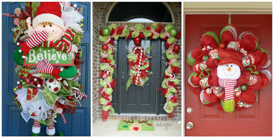 decoración-navideña-con-mallas