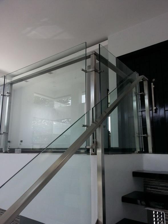 Glass Railings Philippines: Stair Railing