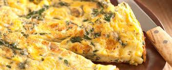 Omelete de Taioba