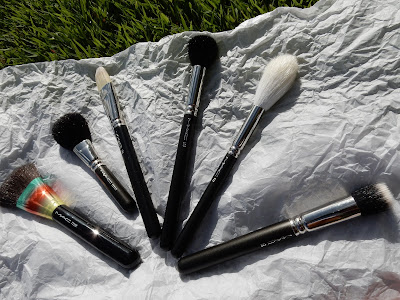 M.A.C face brushes www.modenmakeup.com
