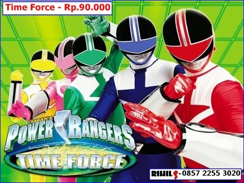 jual kaset film power ranger time force   rihils