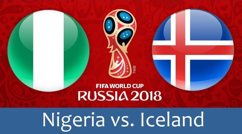 nigeria vs iceland live score result from