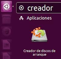Creador de discos de arranque Aplicación