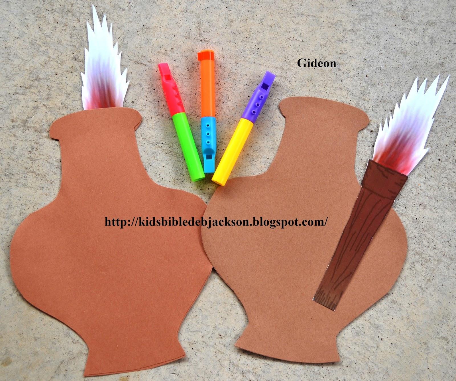 Bible Fun For Kids Tlc Vbs Day 1 Gideon Defeats The