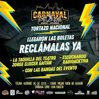 BOLETAS CARNAVAL FEST 2018