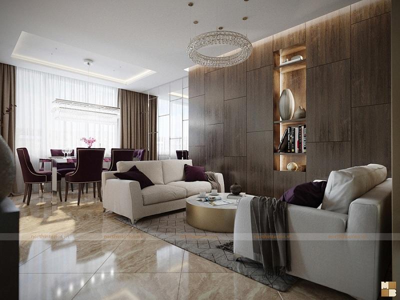 Tư vấn thiết kế nội thất chung cư hiện đại theo xu hướng năm 2018 - H4