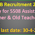 GSERB Recruitment 2016 Apply for 5508 Assistant Teacher & Old Teacher Posts