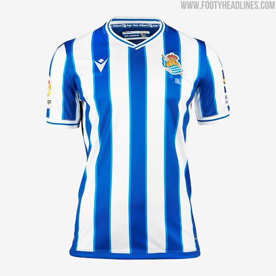 Real Sociedad 20-21 Home & Away Kits Released - Footy Headlines