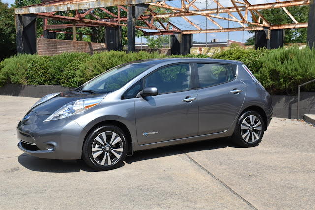 Wow!  No Gas, All Electric Nissan LEAF   via  www.productreviewmom.com
