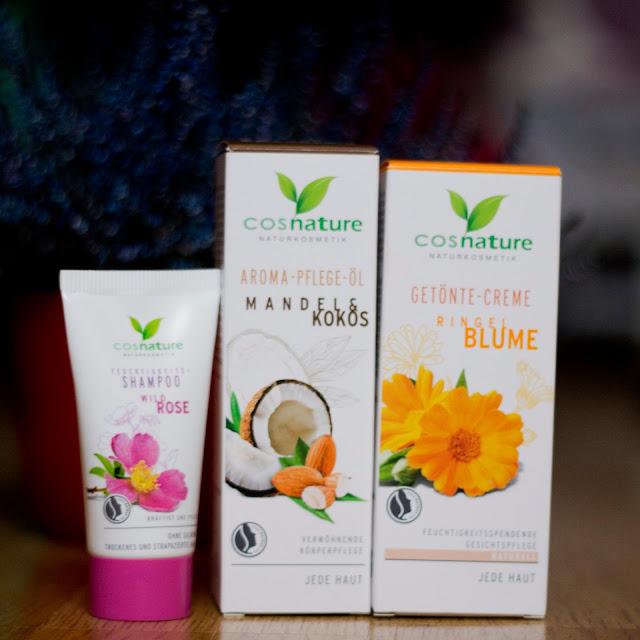 Naturalny aromatyczny migdałowo-kokosowy olejek do pielęgnacji ciała Cosnature - Biobeauty
