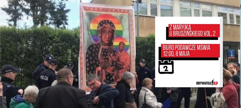 Čenstachovo Dievo motinos ikonos išniekintojai sako, kad seka popiežiaus pavyzdžiu