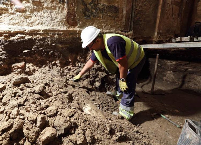Roman marble statue discovered in Toledo