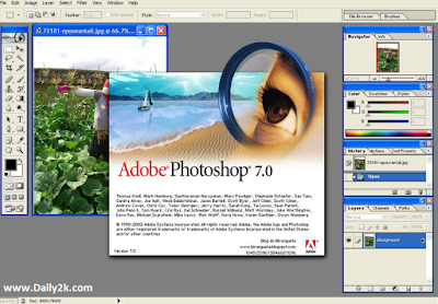 Adobe Photoshop 7 free download full version with key