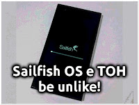 Sailfish OS e TOH - be unlike!