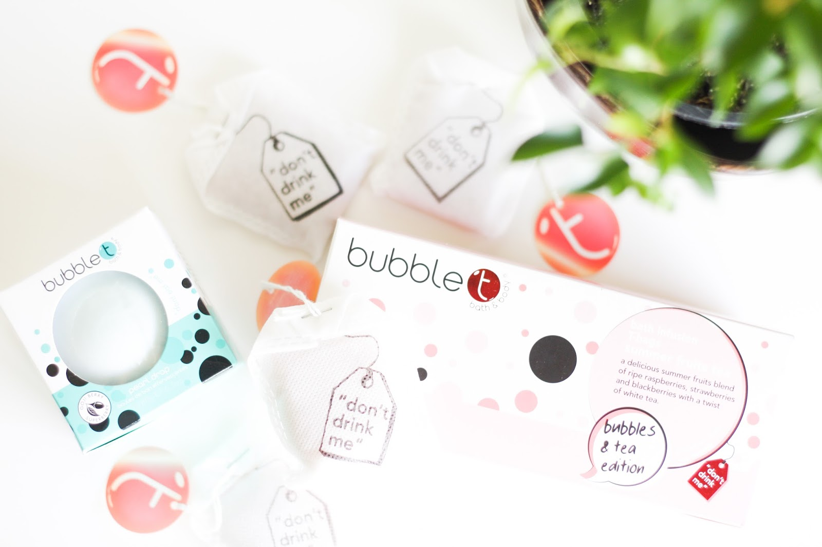 Bubble T bath products review